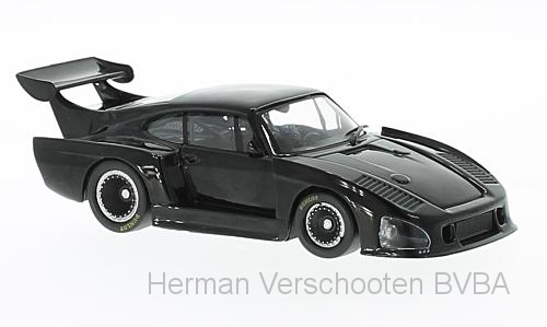WB237    Porsche 935 K3, 1980, zwart, Whitebox