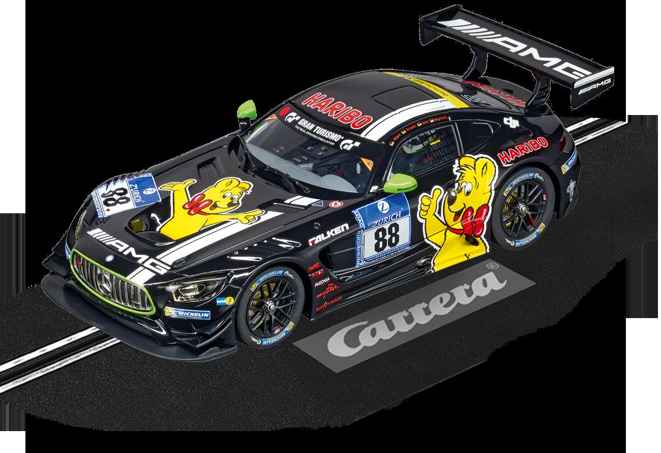 """30782  DIG132 Mercedes-Benz AMG GT3 """"Haribo Racing, No.88"""", Carrera"""