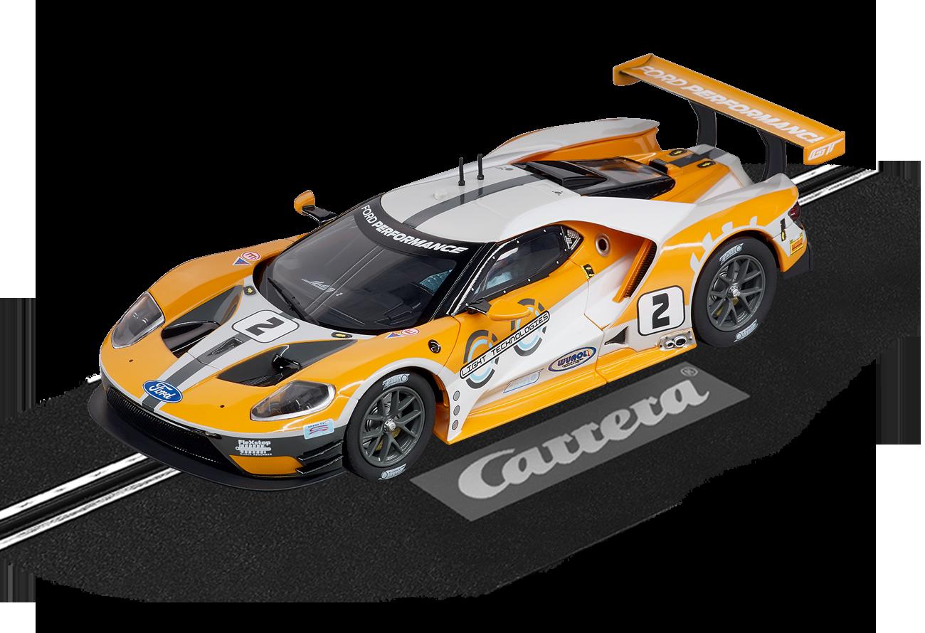 """30786  DIG132 Ford GT Race Car """"No.2"""", Carrera"""