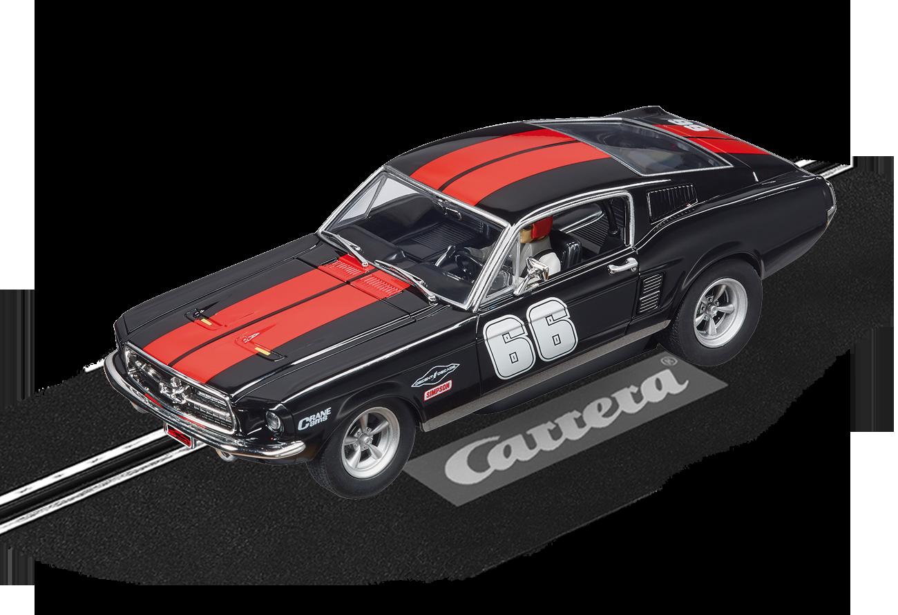 """30792  DIG 132 Ford Mustang GT """"No.66"""", Carrera"""