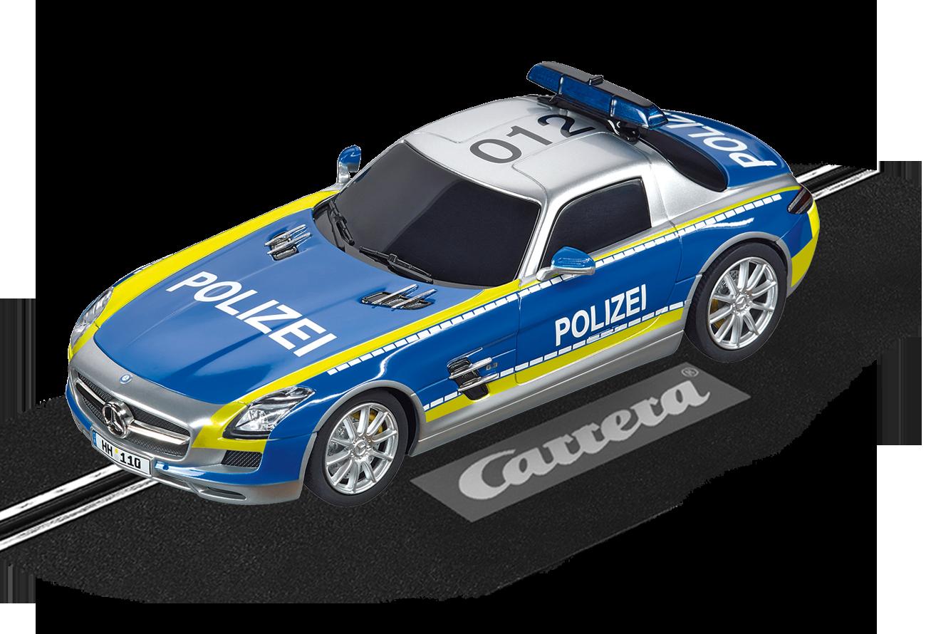 """30793  DIG 132 Mercedes-Benz SLS AMG """"Polizei"""", Carrera"""