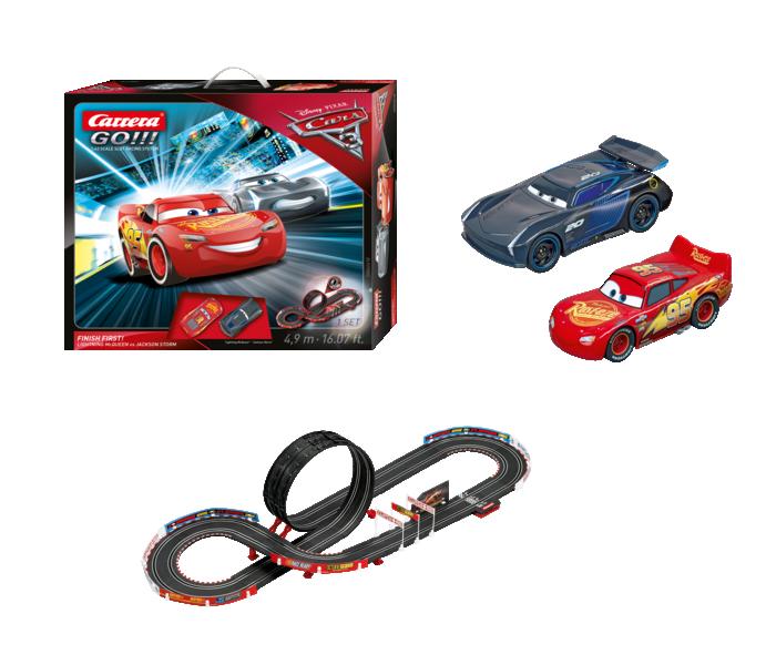 """62418  Disnay Pixar Cars 3 """"Finish First"""", Carrera Go!!!"""