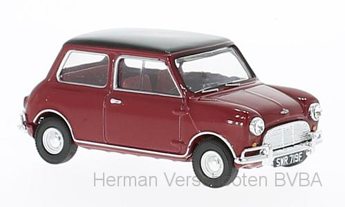 VA02539  Mini Cooper S MkI, Rood/zwart, Corgi