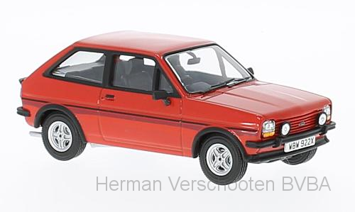 VA12510    Ford Fiesta MkI Supersport, rood, Corgi