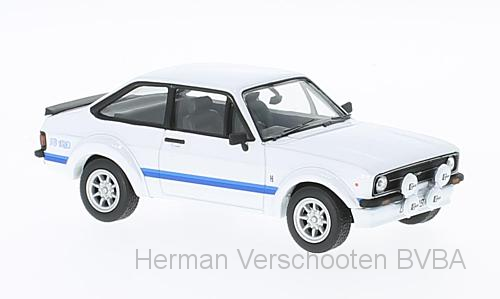 VA12609    Ford Escort MkII RS1800, wit, Corgi