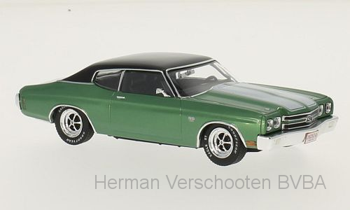 PRD465  Chevrolet Chevell SS 1970, groen, PremiumX