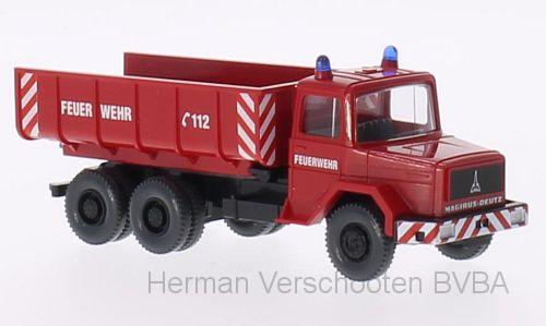 62402  Feuerwehr Schuttwagen (Magirus Deutz Hauber), Wiking