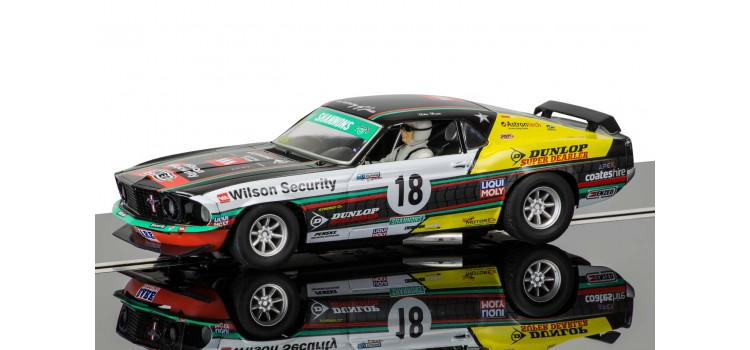 "3728    Ford Mustang Boss 302 1969, ""John Blowe, No.18"", Scalextric"