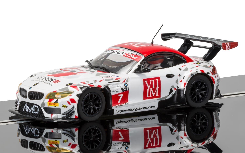 """3848  BMW Z4 GT3 """"Britisch GT Championship"""", Scalextric"""