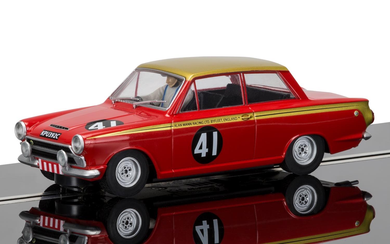 "3870  Ford Cortina MkI ""Alan Mann Racing"", Scalextric"