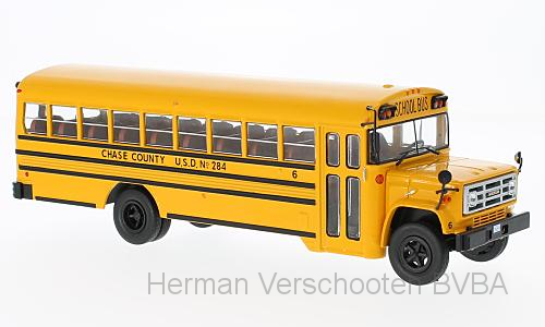 "BUS004    GMC 6000 ""Schoolbus, USA"", Ixo"