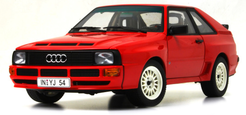 940012120  Audi Sport Quattro 1984, rood, Minichamps/Maxichamps
