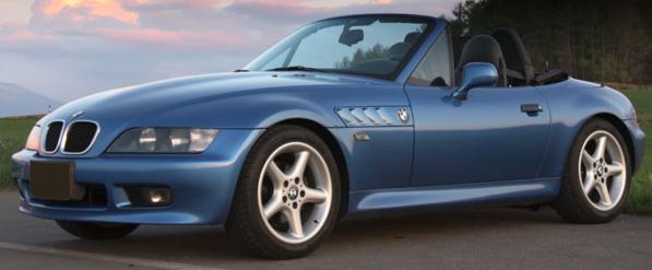 940024331  BMW Z3 Coupé 1997, blauw, Minichamps/Maxichamps