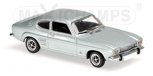 940085501  Ford Capri I 1969, lichtblauw met., Minichamps/Maxichamps