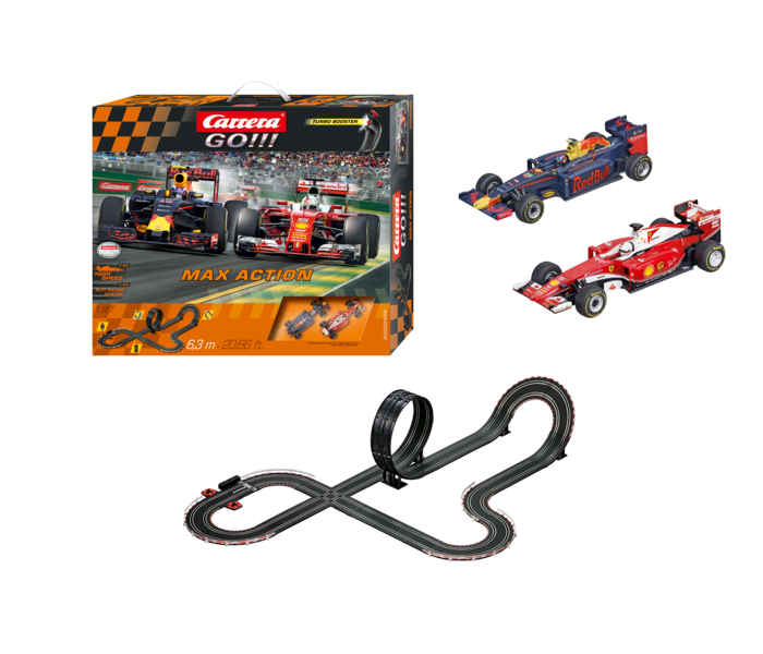 "62429  Go!!! Max Action ""M.Verstappen/S.Vettel, Carrera"