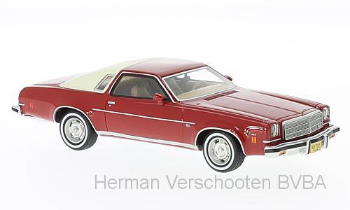 47185  Chevrolet Malibu 2-Door, rood/lichtbeige, Neoscale Models