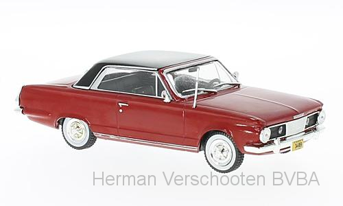 WB254    Chrysler Valiant Acapulco, 1965, rood/zwart, Whitebox