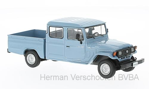 WB255    Toyota Land Cruiser Bandeirante, 1976, lichtblauw, Whitebox