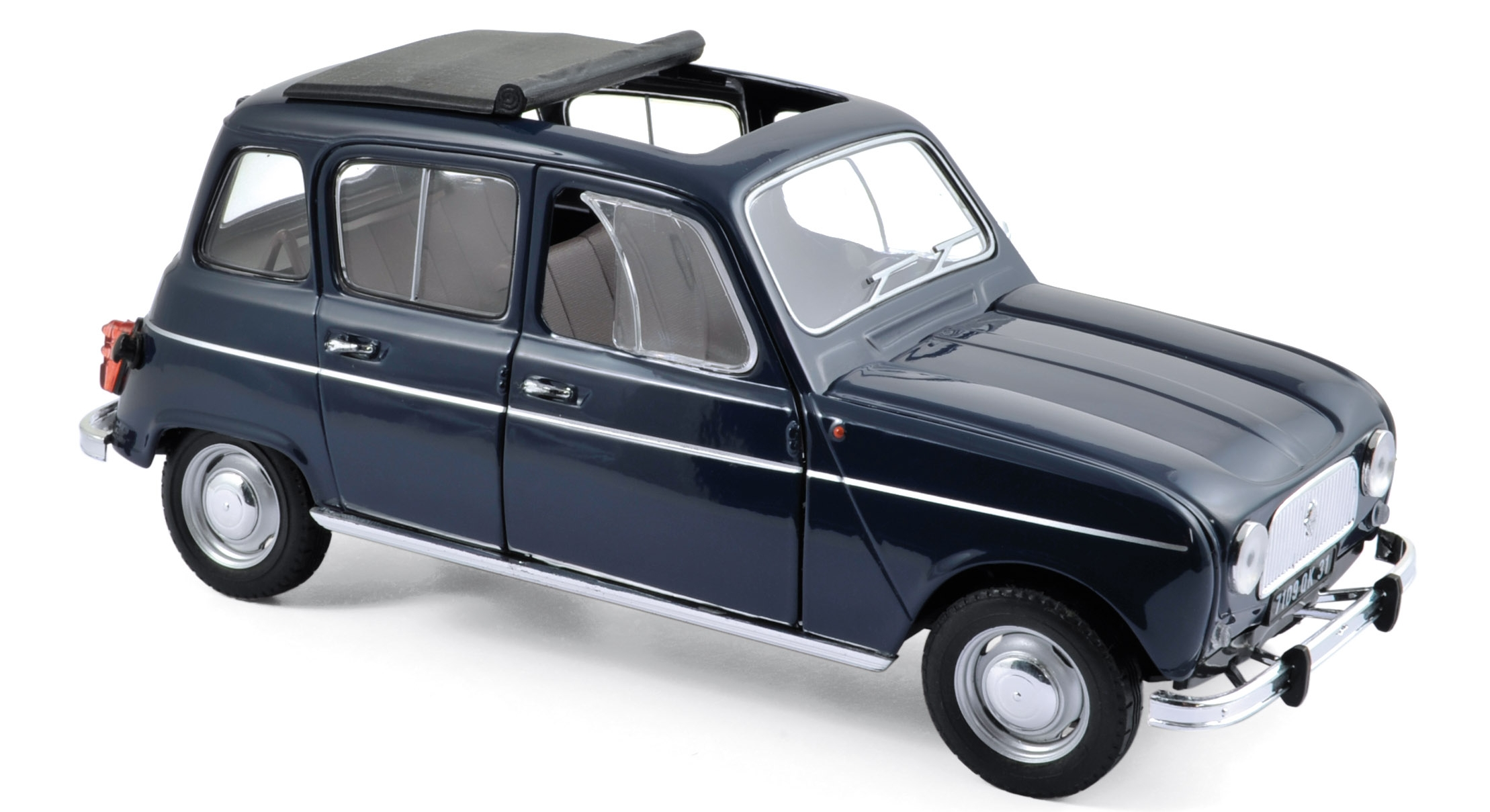 185241    Renault 4 1965, Copenhague blue, Norev