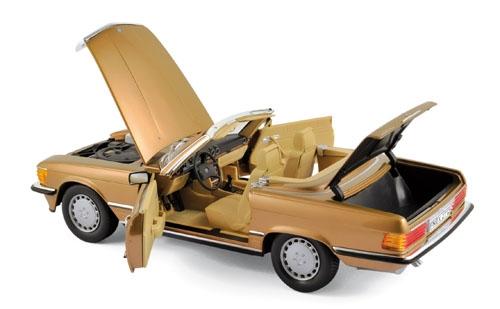 183514  Mercedes-Benz 300 SL 1986, goud met., Norev
