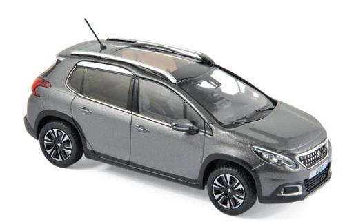479848  Peugeot 2008 2016, Platinumgrijs, Norev
