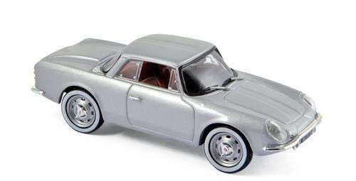 517821  Alpine Renault A108 Coupé 2 + 2 1961, zilver, Norev