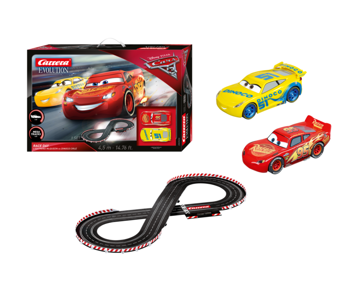 "25226  Disney·Pixar ""Cars 3 - Race Day"", Carrera Evolution"