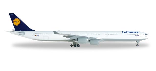 "507417-003  Airbus A340-600 ""Lufthansa D-AIHZ Leipzig"", Herpa Wings"