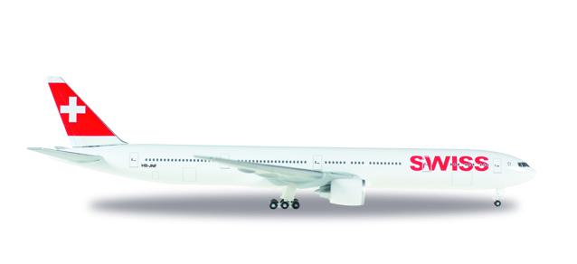 """529136-001  Boeing 777-300ER """"Swiss International Air Lines"""", Herpa Wings"""
