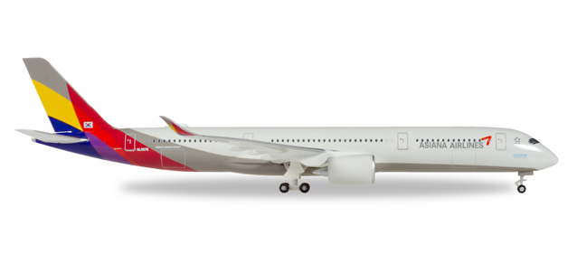 """529983  Airbus A350-900 XWB """"Asiana Airlines"""", Herpa Wings"""