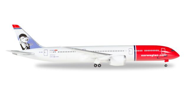 """530170  Boeing 787-9 Dreamliner """"Norwegian"""", Herpa Wings"""