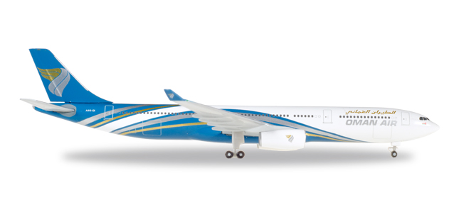 "530484    Airbus A330-300 ""Oman Air"", Herpa Wings"