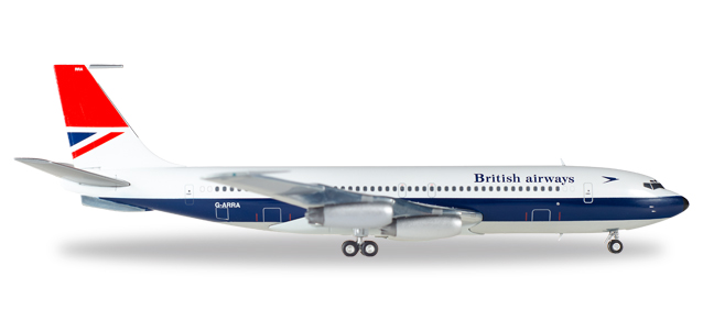 """558464  Boeing 707-400 """"British Airways"""", Herpa Wings"""