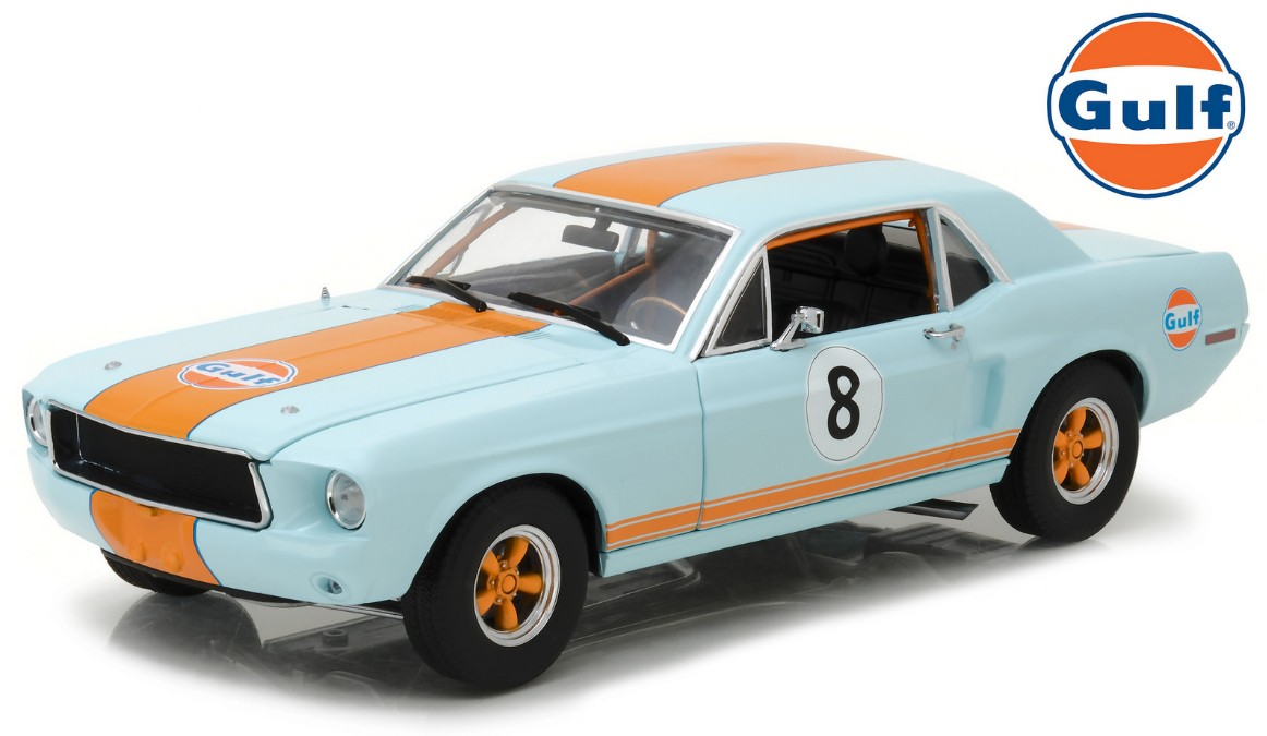 "12989    1967 Ford Mustang Coupé, ""Gulf"", Greenlight"
