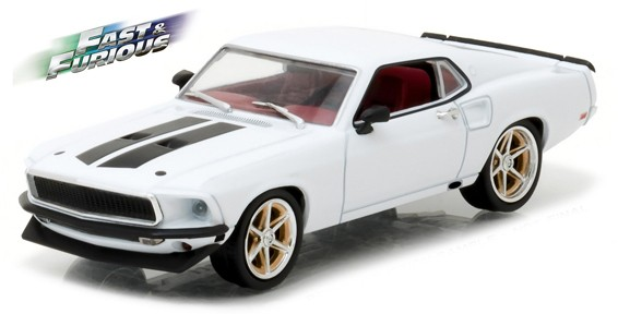 "86236    Roman's 1969 Ford Mustang ""The Fast and The Furious"", Greenlight"