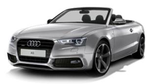 501.17.053.31  Audi A5 Cabriolet 2017, zilver, Kyosho