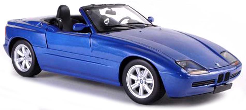 940020101  BMW Z1 (E30) 1991, blauw met., Maxichamps/Minichamps