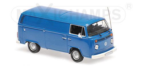940035061  Volkswagen T2b 1972, blauw, Maxichamps/Minichamps