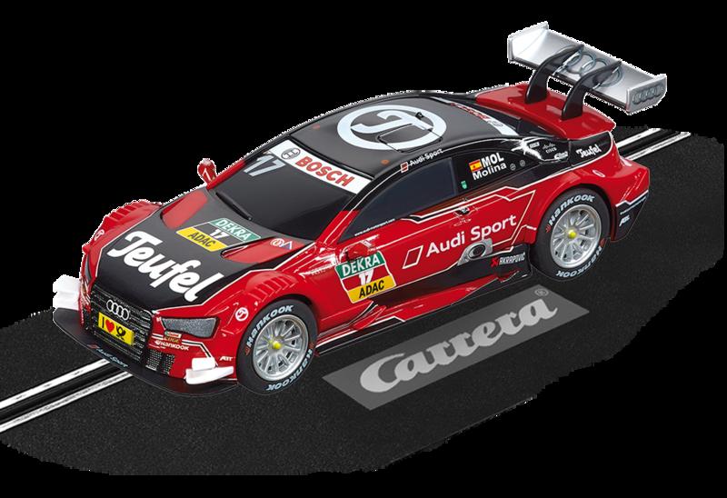"""64090  Teufel Audi RS 5 DTM """"M.Molina, No.07"""", Carrera"""