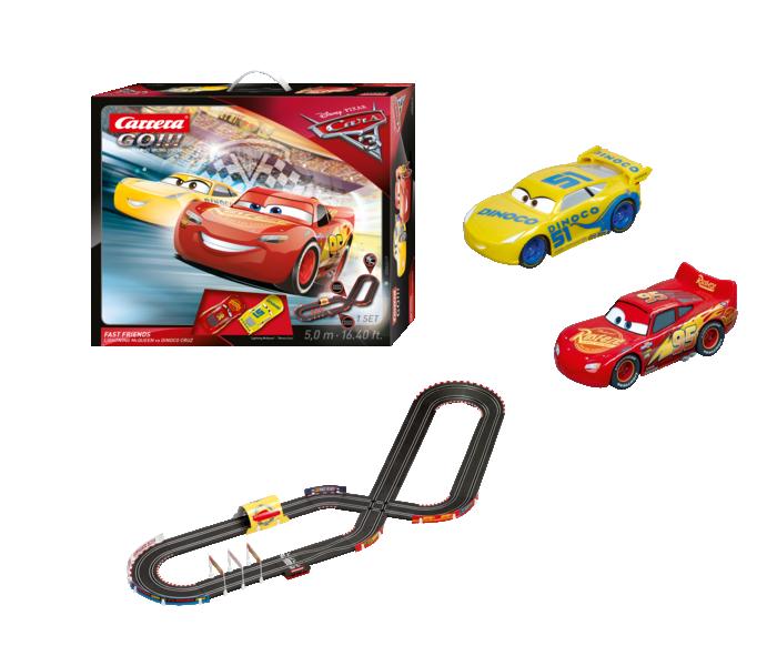"""62419  """"Cars 3 - Fast Friends"""", Carrera Go!!!"""