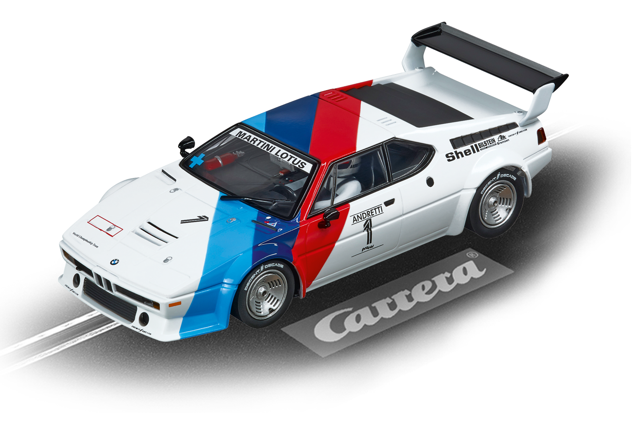 "27560    Evo BMW M1 Procar éAndretti, No.01"", 1979, Carrera"