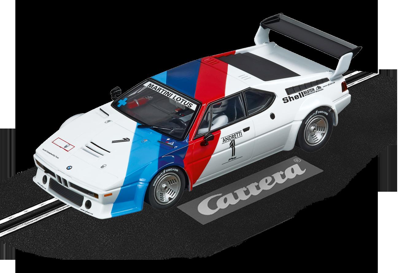"""30814  DIG132 BMW M1 Procar """"Andretti, No.01"""", 1979, Carrera"""