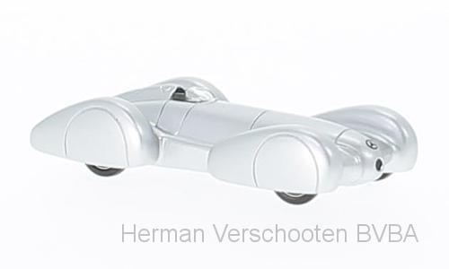 BOS87320  Mercedes W154 Rekordwagen, zilver, Bos