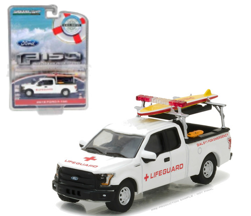 "29899    2016 Ford F-150 ""Lifeguard"", Greenlight"