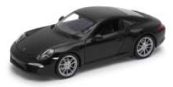 24040W    Porsche 911 (991) Carrera S, zwart, Welly