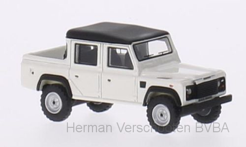 BOS87096    Land Rover Defender 110 Double Cab PickUp, Wit, Bos