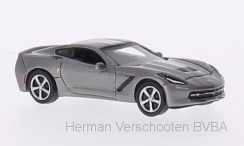BOS87106  Chevrolet Corvette (C7), met. grijs, Bos