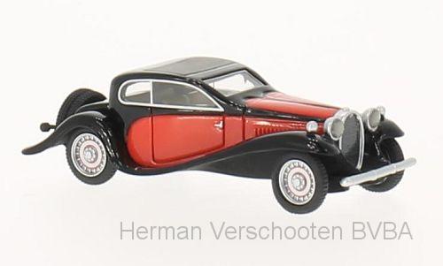 BOS87165  Bugatti Typ 50T, rood/zwart, Bos