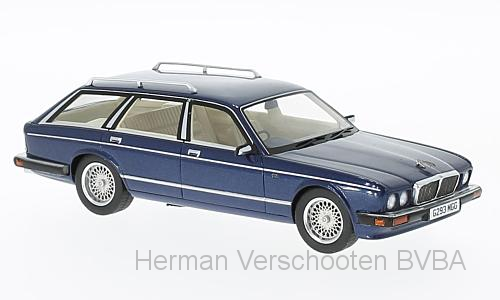 47040  Jaguar XJ40 Shooting Brake met. donkerblauw, RHD, Neoscale Models