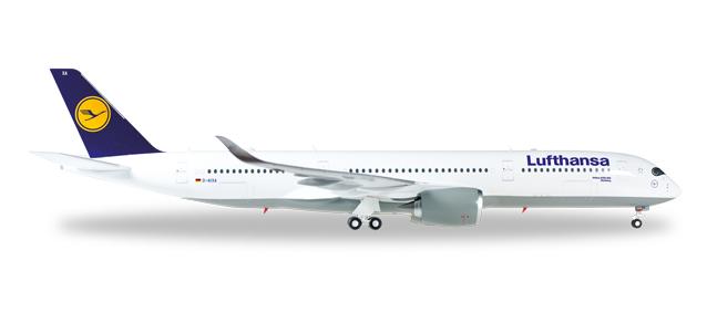 """557801-001  Airbus A350XWB """"Lufthansa D-AIXA"""", Herpa Wings"""